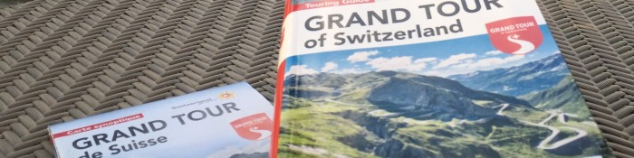 Karte und Buch Grand Tour of Switzerland