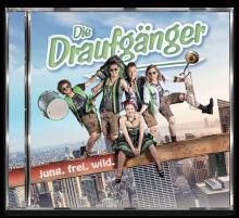 """Cover der CD """"jung. frei. wild"""" von """"Die Draufgänger"""""""
