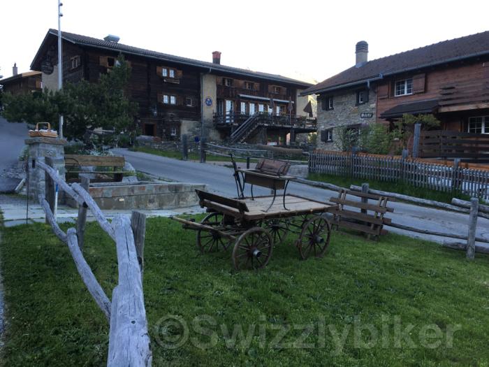 Maiensässhotel Guarda Val in Sporz bei Lenzerheide