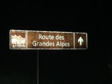 Swizzlybiker sur la Route des Grandes Alpes
