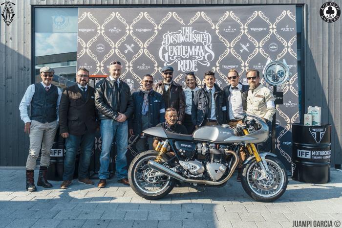 Gentlemans-Ride im Ace Café Luzern