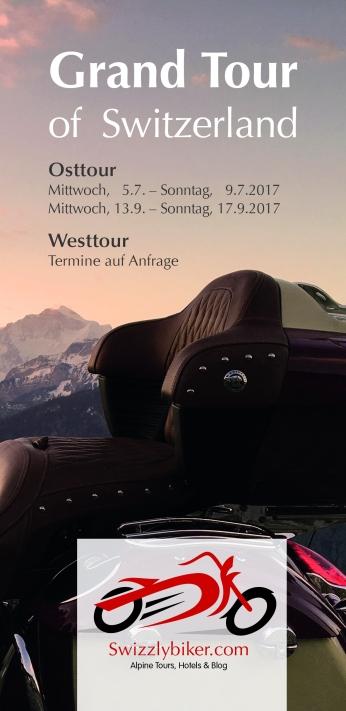 """Swizzlybiker-tour """"Grand Tour of Switzerland"""" P 1"""