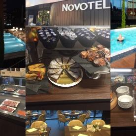 Das Hotel Novotel Lugano Paradiso wartet mit Süssigkeiten und einem Pool auf!