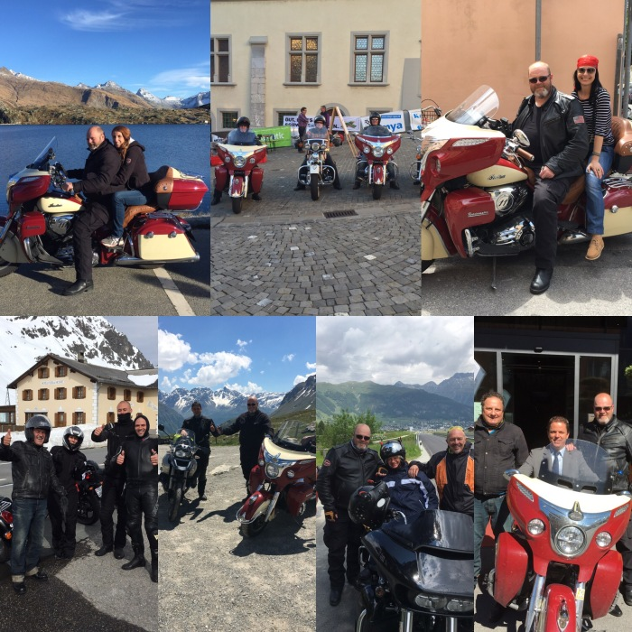 Exploring Switzerland & Italy, tourguiding & meeting friends.