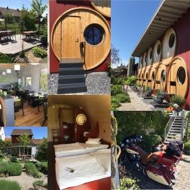 Das Fasshotel von Rüedi-Ferien in Trasadingen, Schaffhausen. Achtung: Es gibt zwei davon! ;-)