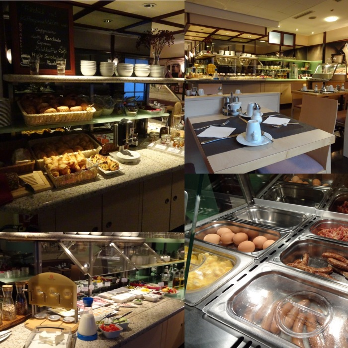 Frühstücksbuffet & Frühstücksraum
