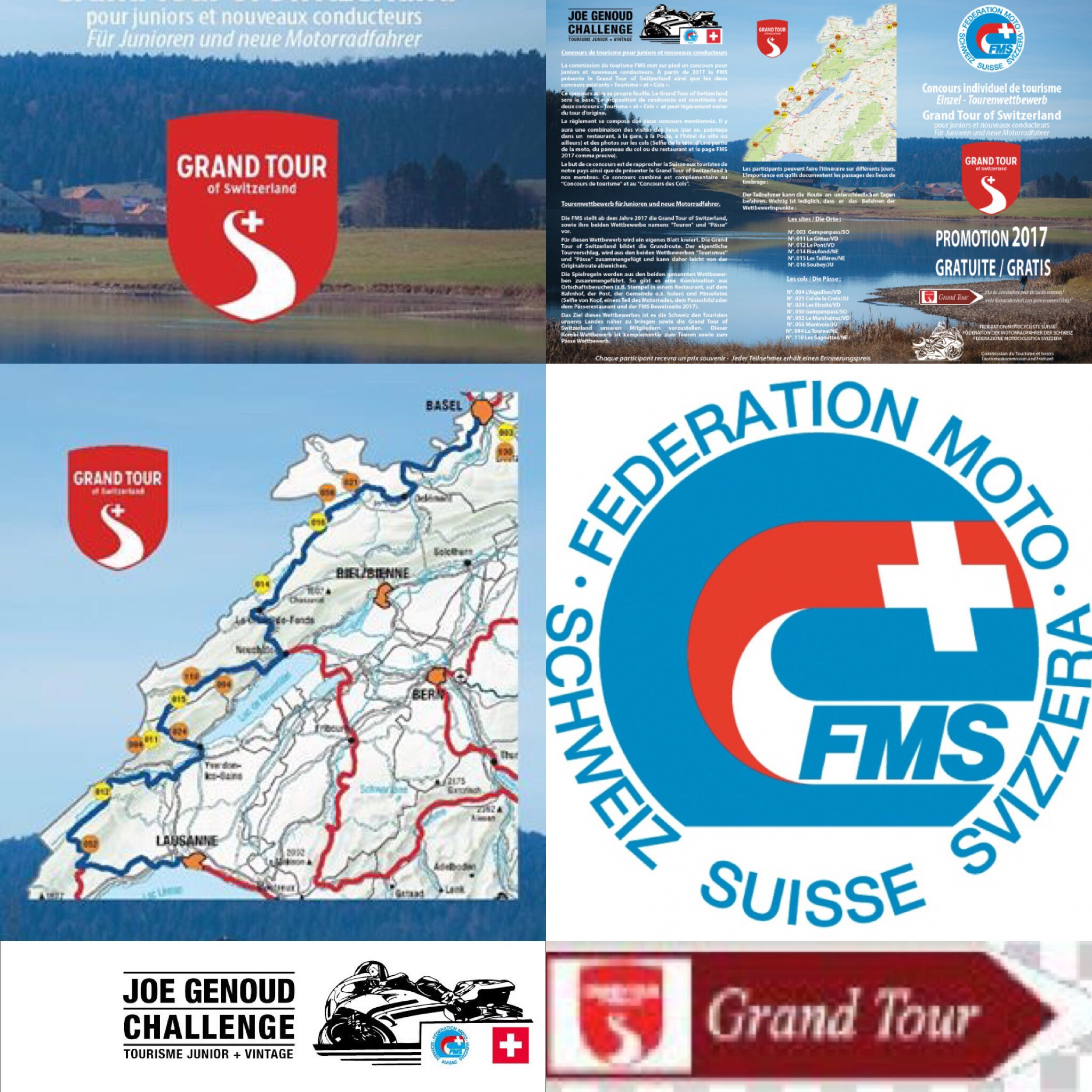 FMS Joe-Genoud-Challenge on the Grand Tour of Switzerland
