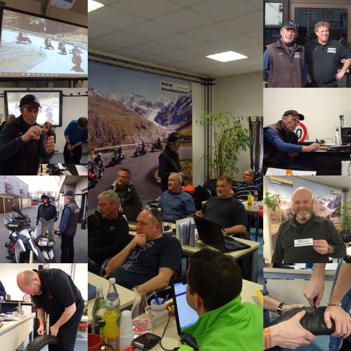 Ausbildung Motorrad-Tourguides im MWZ Motorradweiterbildungszentrum München