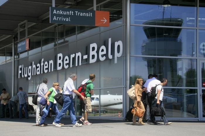 Flughafen Bern-Belp: Kürzester Check-In der Schweiz