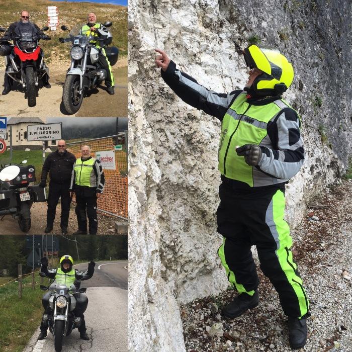 Swizzlybiker mit Hermann Ryter on tour! Dolomiten & Gardasee.