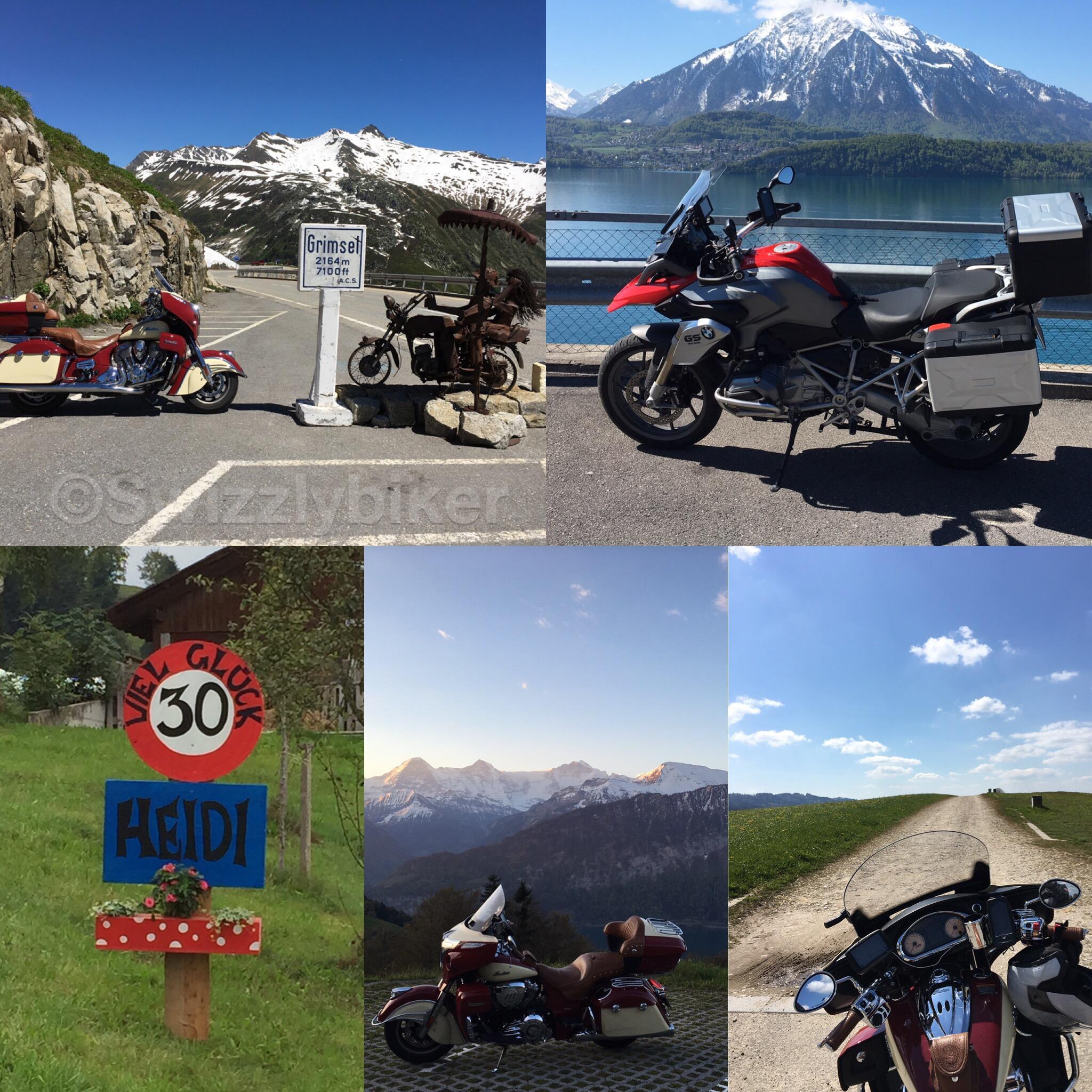 Motorradfahren in der Schweiz! :-)