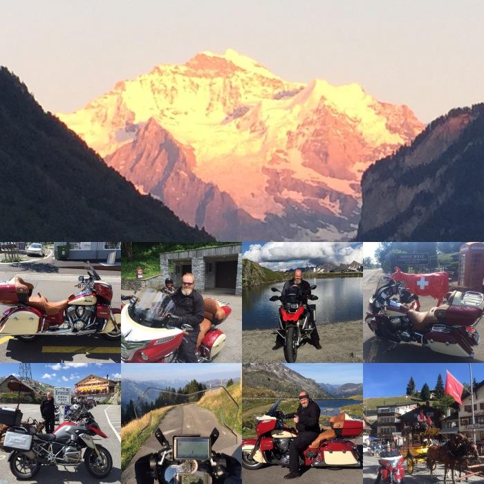 Mit der Indian Roadmaster und/oder der BMW R 1200 GS quer durch die Schweiz