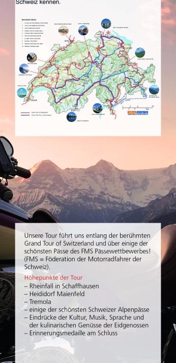 """Swizzlybiker-tour """"Grand Tour of Switzerland"""" P 6"""