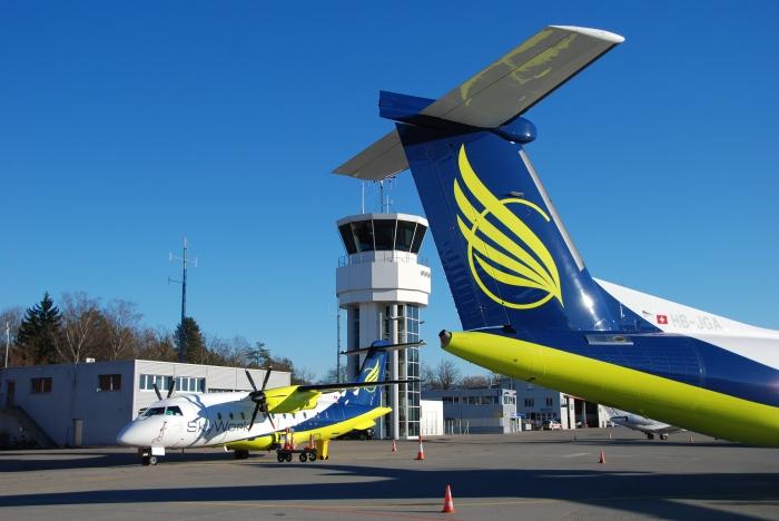 SkyWork Airline: Flughafen Bern-Belp