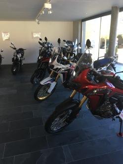 Der neue Laden der GL-Moto in Unterseen