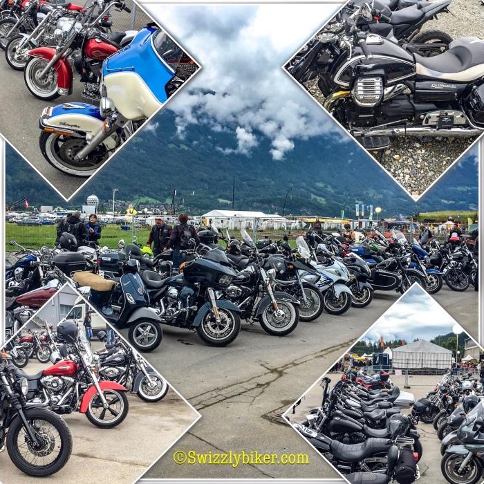 Motorbike-Parking Trucker & Countryfestival Interlaken