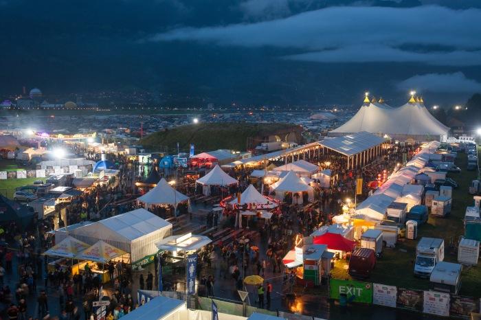 25 Jahre Trucker & Countryfestival Interlaken = Partytimmung bis in die frühen Morgenstunden garantiert!